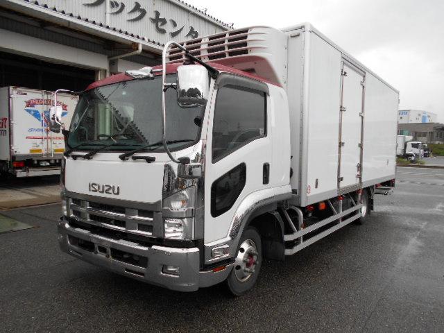 いすゞフォアード冷凍冷蔵車PG付ワイド TKG-FRR90T2 H26年