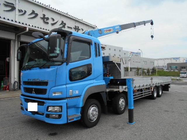三菱スーパーグレート クレーン付 QKG-FS54VZ H24年