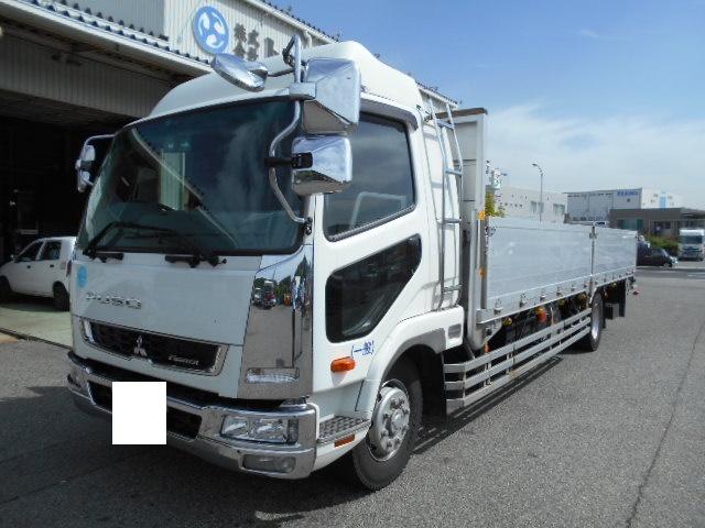 三菱ファイター 増トンアルミ平 QKG-FK65FZ H26年