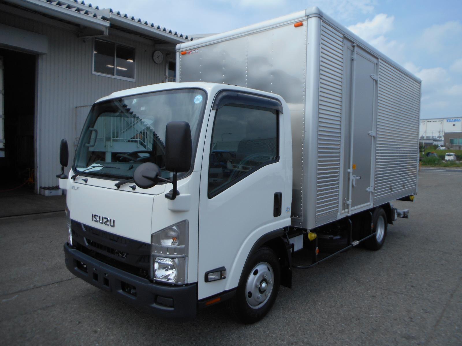 いすゞ アルミバン 格納PG 左S/D ワイド/ロング 車検付 H31年式